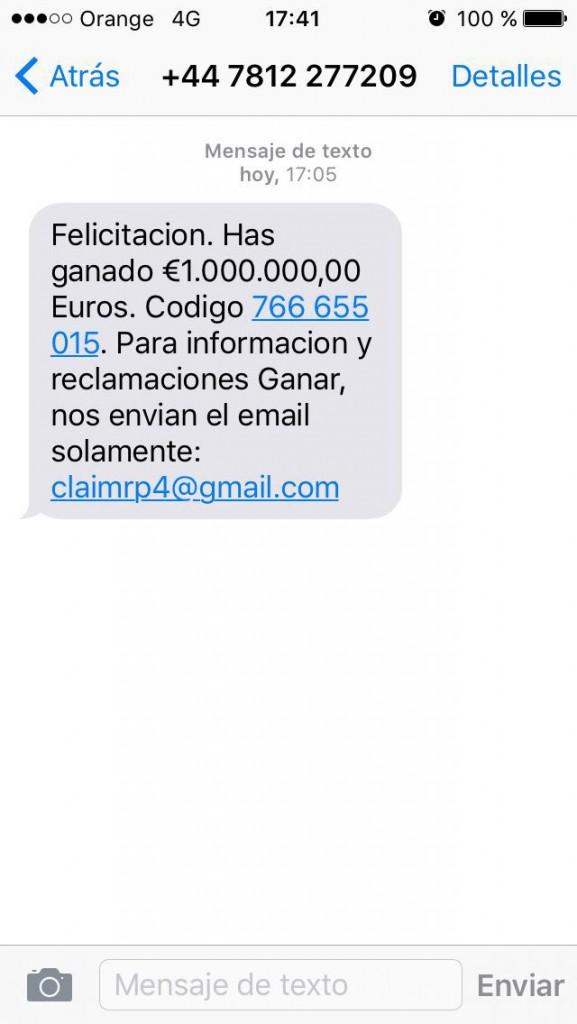 sms fraude