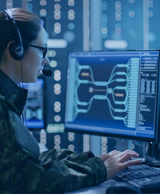 Ciberdefensa militar