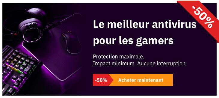 Panda Antivirus pour les gamers