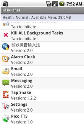 La aplicación continúa en ejecución aunque se cierre