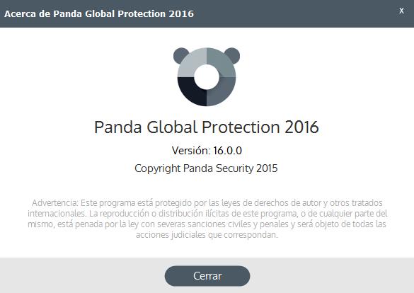 Panda 2015 versión