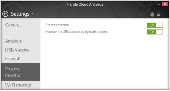 Cloud AV Process Monitor