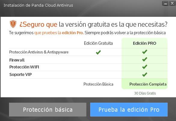 Cloud AV básico y Pro