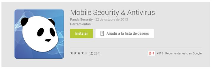 Instalar Panda Mobile Security