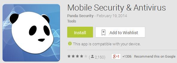 Panda Mobile Security Google Play