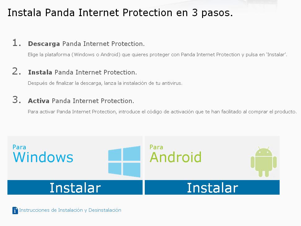 Panda Internet Protection